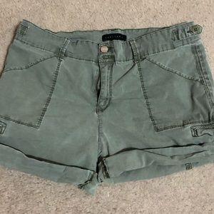Sanctuary green shorts